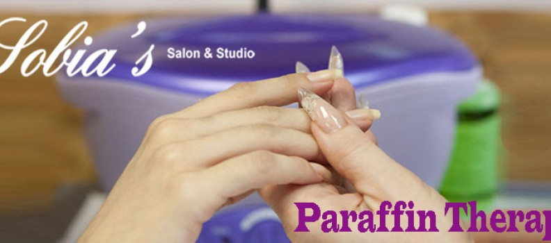 Paraffin Therapy at Sobia's