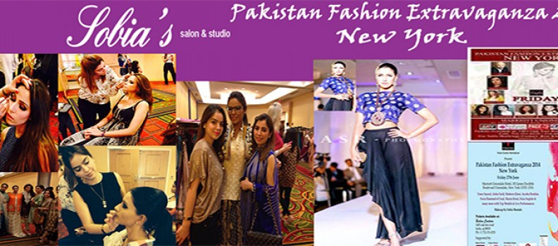 Sobia & Zarpash at Pakistan Fashion Extravaganza 2014: